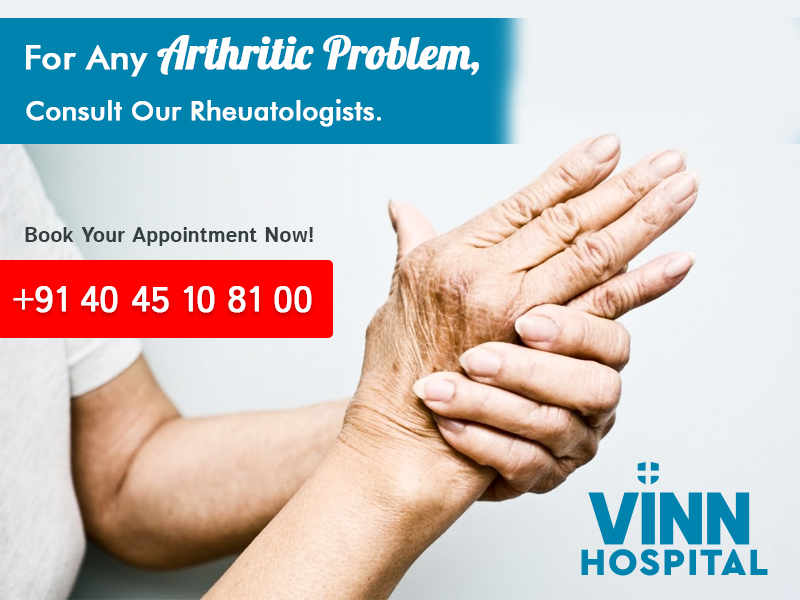 For Any Arthritic Problem Consult Our Rheuatologists