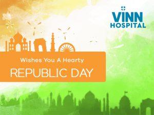 VINN Hospital Wishes You A Faithful 70th Republic Day
