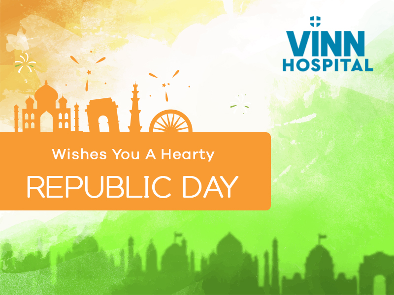VINN Hospital Wishes You A Faithful 70th Republic Day
